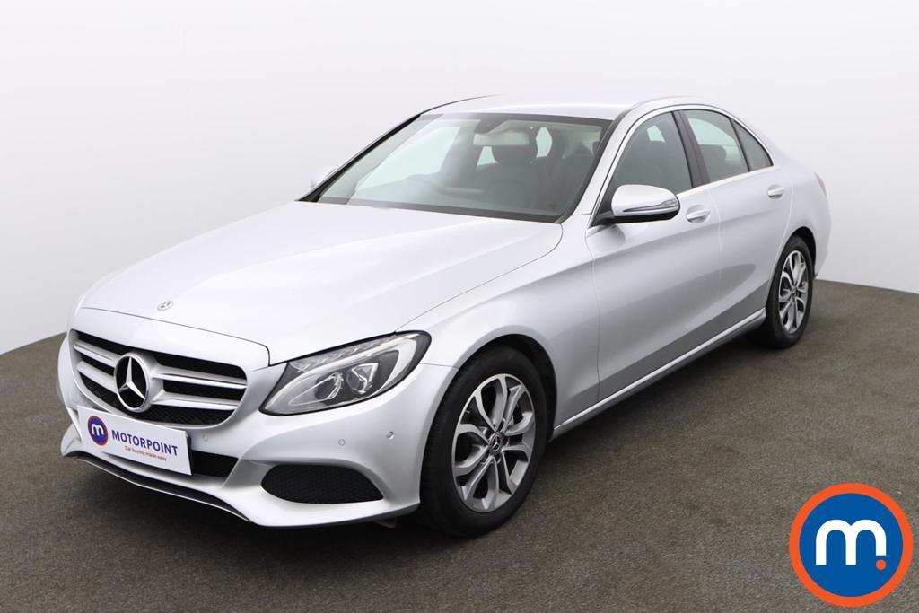 Mercedes-Benz C Class C220d Sport 4dr 9G-Tronic - Stock Number 1156260 Passenger side front corner