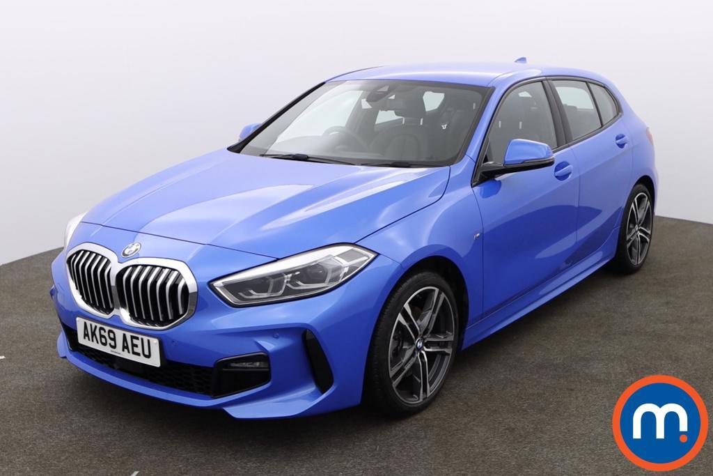 BMW 1 Series 118i M Sport 5dr Step Auto - Stock Number 1157687 Passenger side front corner