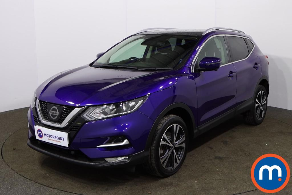 Nissan Qashqai 1.5 dCi N-Connecta [Glass Roof Pack] 5dr - Stock Number 1158626 Passenger side front corner