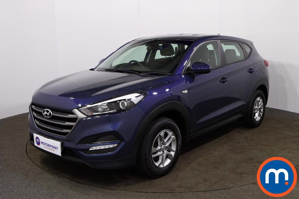 Hyundai Tucson 1.6 GDi Blue Drive S 5dr 2WD - Stock Number 1156437 Passenger side front corner