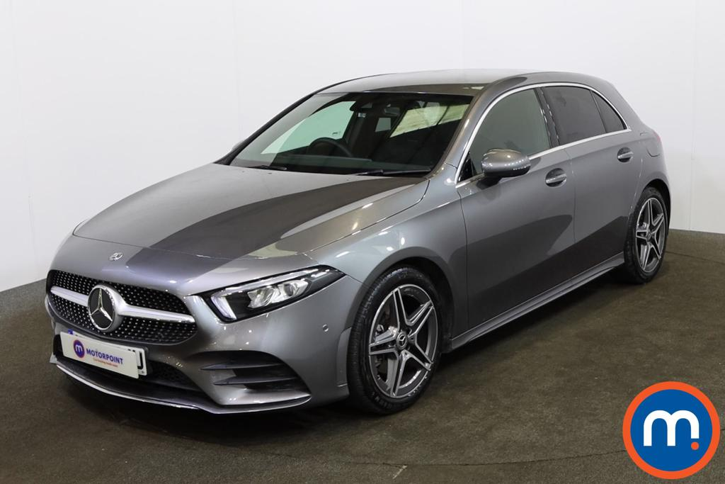Mercedes-Benz A Class A180 AMG Line Executive 5dr Auto - Stock Number 1156192 Passenger side front corner
