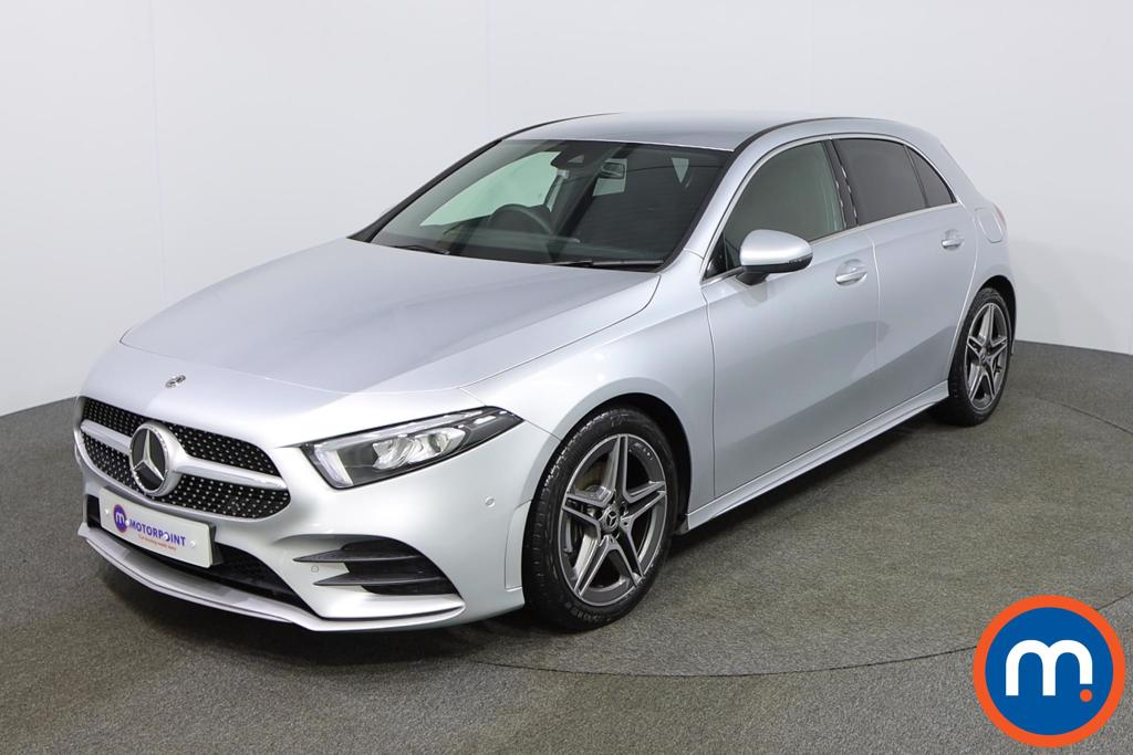 Mercedes-Benz A Class A180d AMG Line Executive 5dr Auto - Stock Number 1157182 Passenger side front corner
