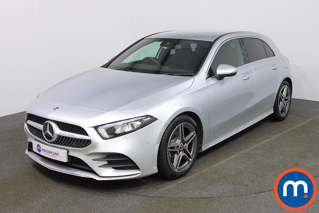 Mercedes-Benz A Class A180 AMG Line Executive 5dr - Stock Number 1157186 Passenger side front corner
