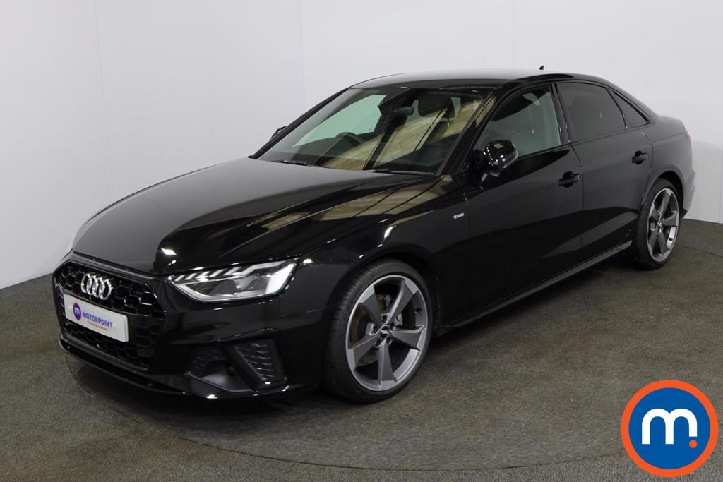 Audi A4 35 TFSI Black Edition 4dr S Tronic - Stock Number 1154613 Passenger side front corner