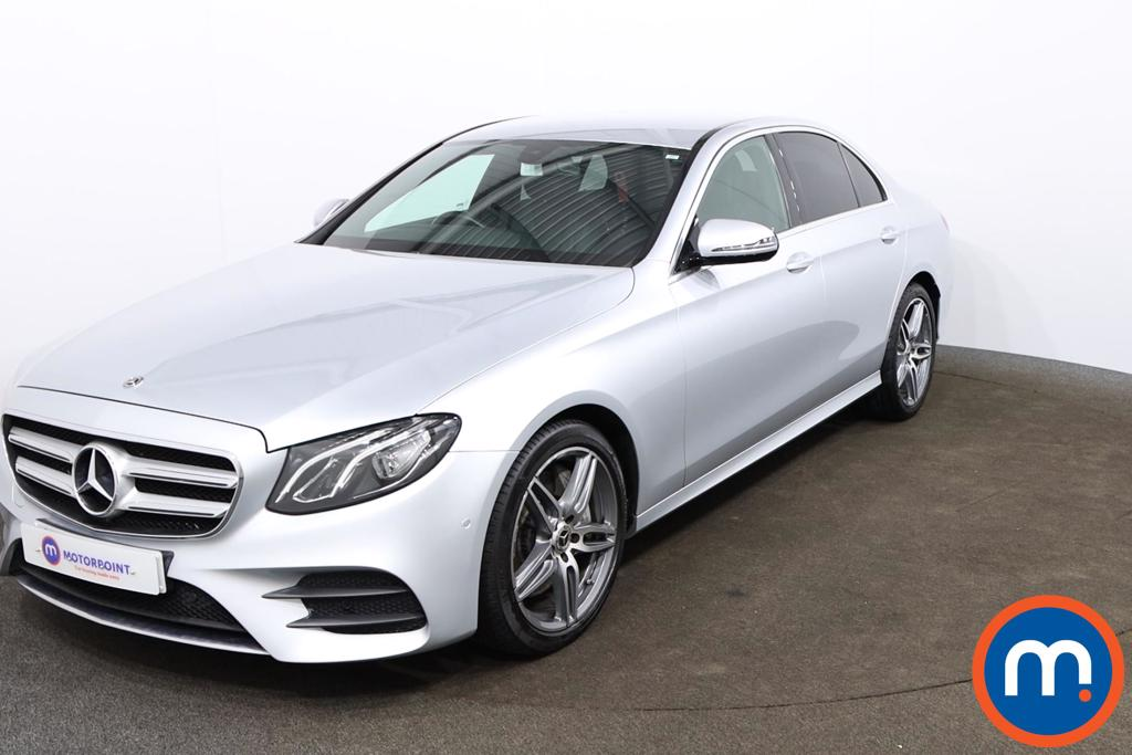 Mercedes-Benz E Class E350d AMG Line 4dr 9G-Tronic - Stock Number 1139983 Passenger side front corner