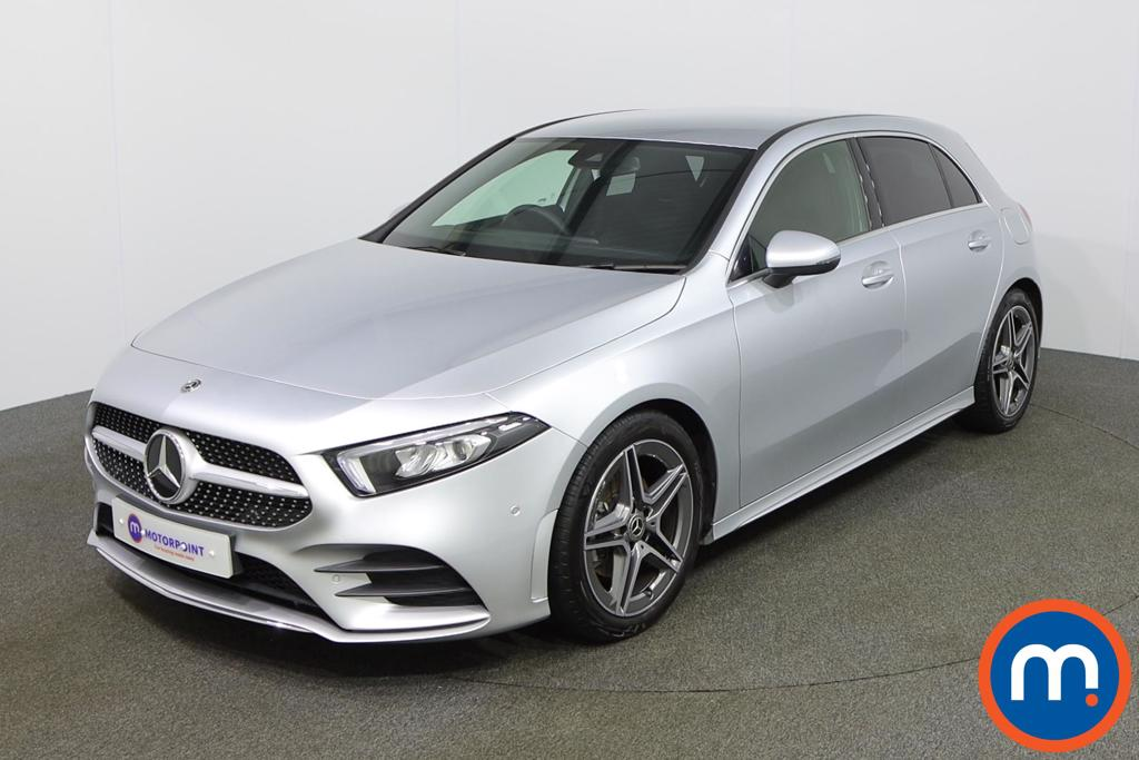 Mercedes-Benz A Class A180 AMG Line Executive 5dr - Stock Number 1157188 Passenger side front corner