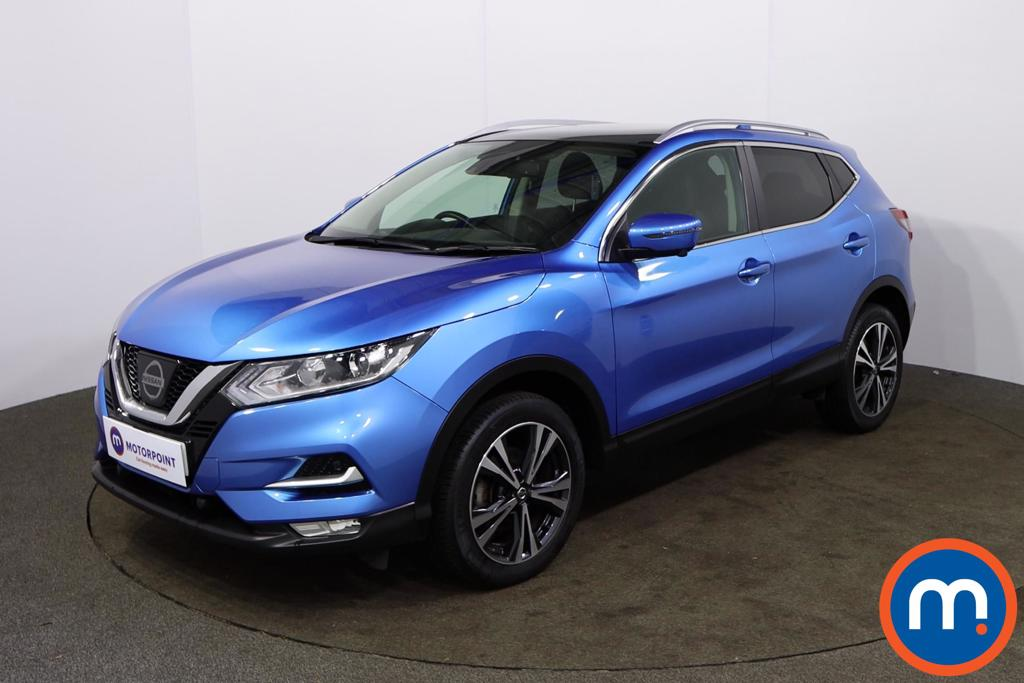 Nissan Qashqai 1.2 DiG-T N-Connecta [Glass Roof Pack] 5dr - Stock Number 1158724 Passenger side front corner