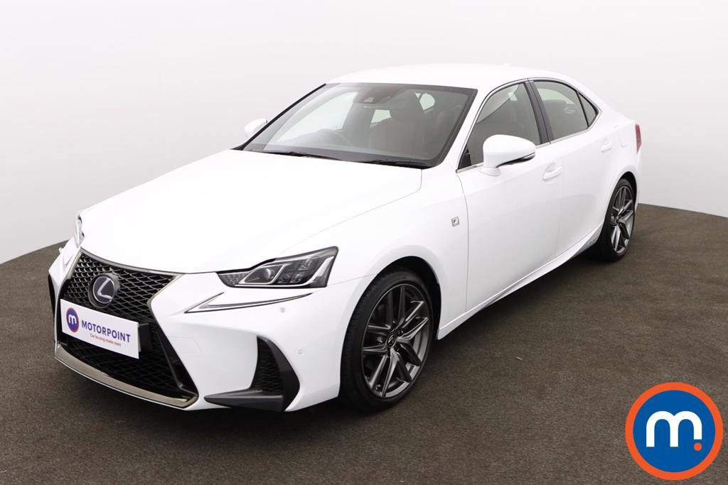 Lexus IS 300h F-Sport 4dr CVT Auto [Navigation] - Stock Number 1158903 Passenger side front corner