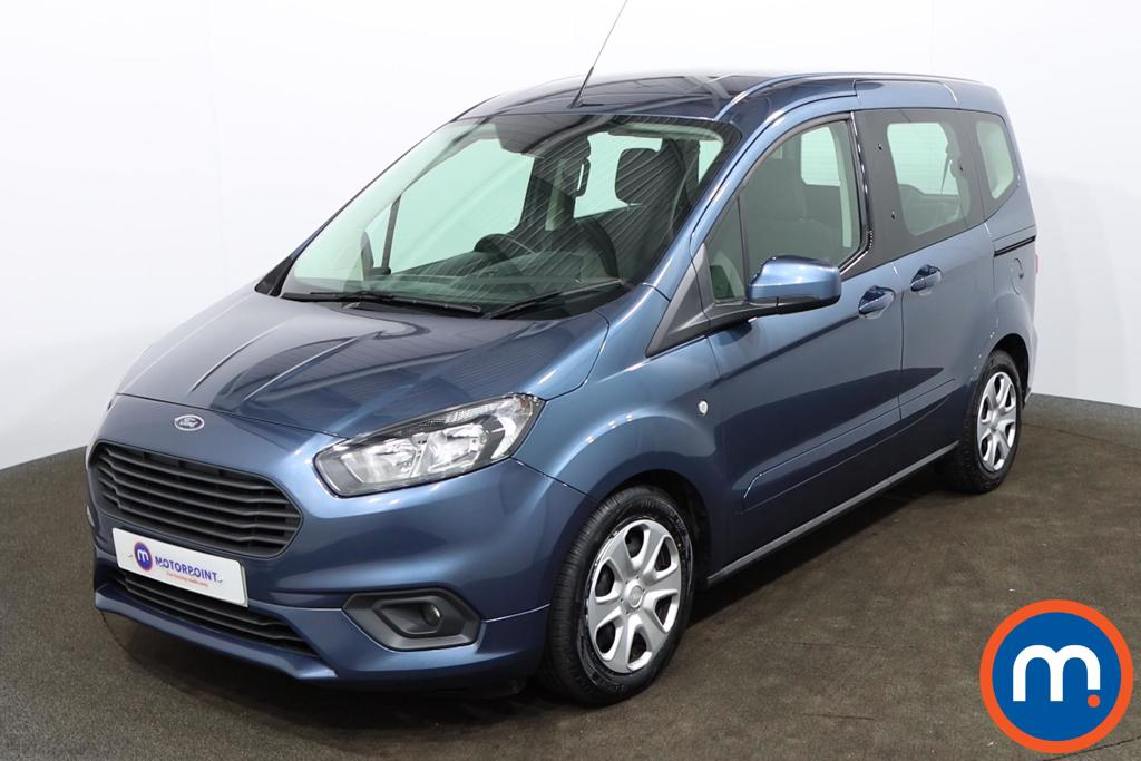 Ford Tourneo Courier 1.5 TDCi Zetec 5dr - Stock Number 1161736 Passenger side front corner