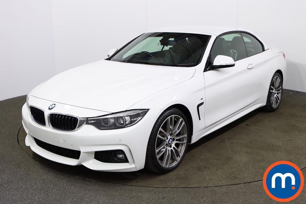 BMW 4 Series 420i M Sport 2dr Auto [Professional Media] - Stock Number 1162226 Passenger side front corner