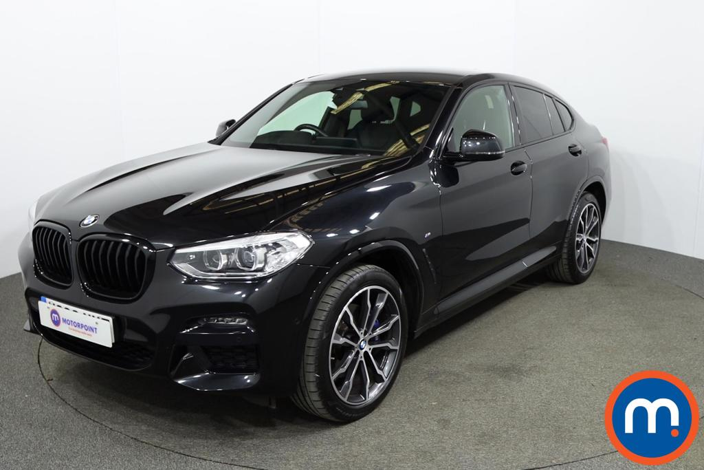 BMW X4 xDrive20d M Sport 5dr Step Auto [Plus Pack] - Stock Number 1162655 Passenger side front corner
