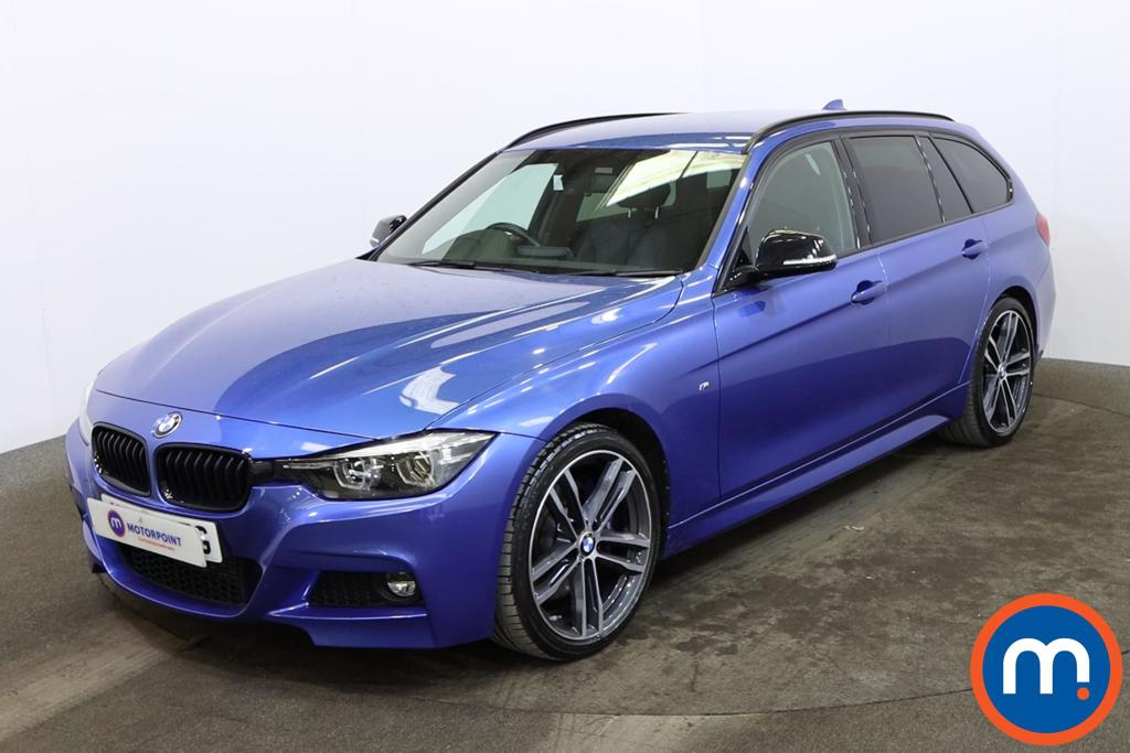 BMW 3 Series 320d M Sport Shadow Edition 5dr Step Auto - Stock Number 1161380 Passenger side front corner