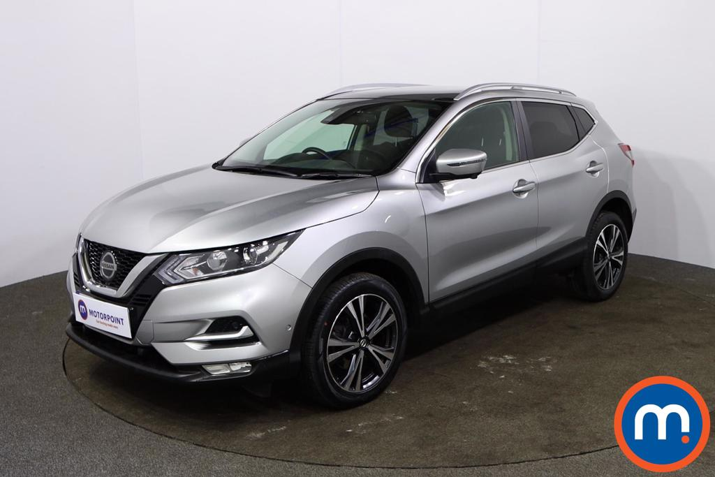 Nissan Qashqai 1.5 dCi 115 N-Connecta 5dr [Glass Roof Pack] - Stock Number 1162413 Passenger side front corner