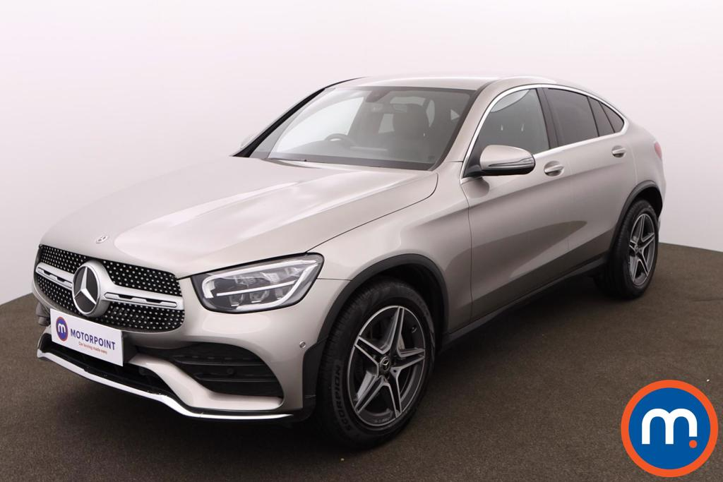 Mercedes-Benz Glc Coupe GLC 300 4Matic AMG Line 5dr 9G-Tronic - Stock Number 1163401 Passenger side front corner