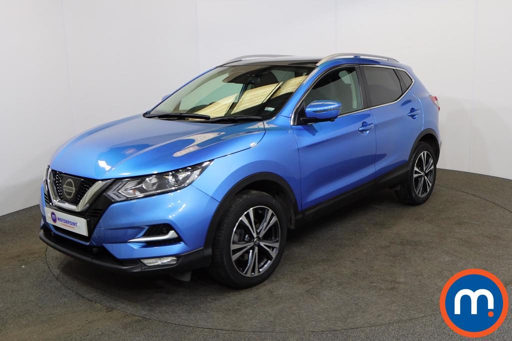Nissan Qashqai 1.5 dCi N-Connecta [Glass Roof Pack] 5dr - Stock Number 1163416 Passenger side front corner