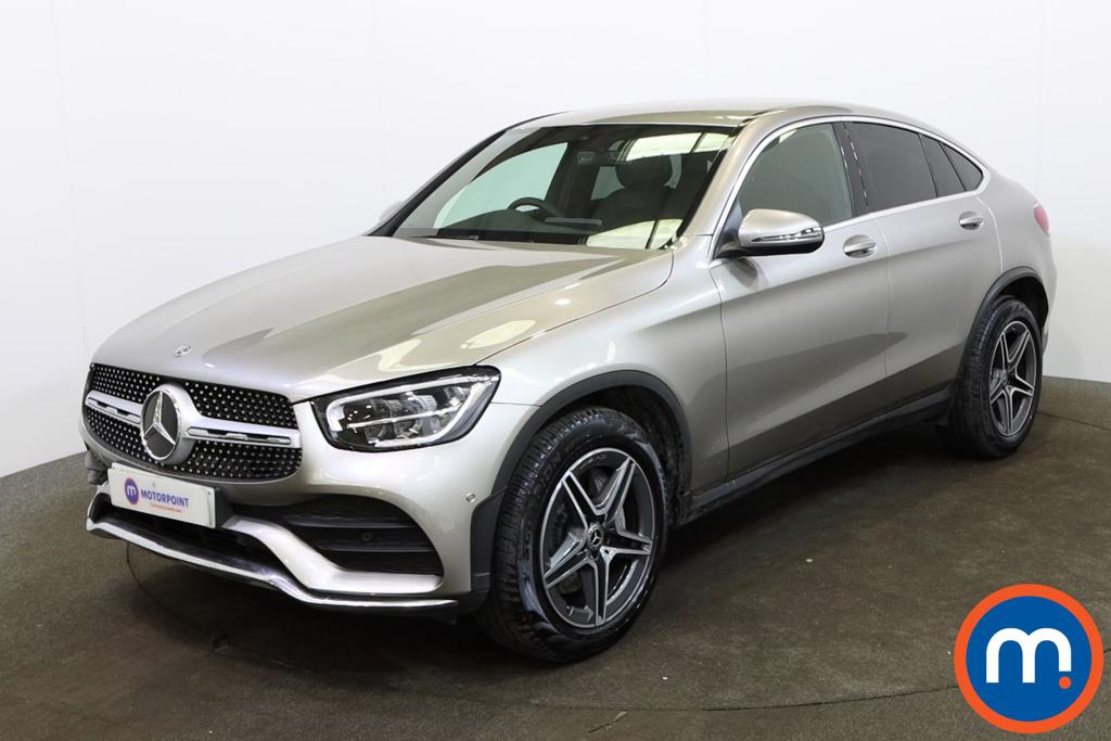 Mercedes-Benz Glc Coupe GLC 300 4Matic AMG Line 5dr 9G-Tronic - Stock Number 1161911 Passenger side front corner