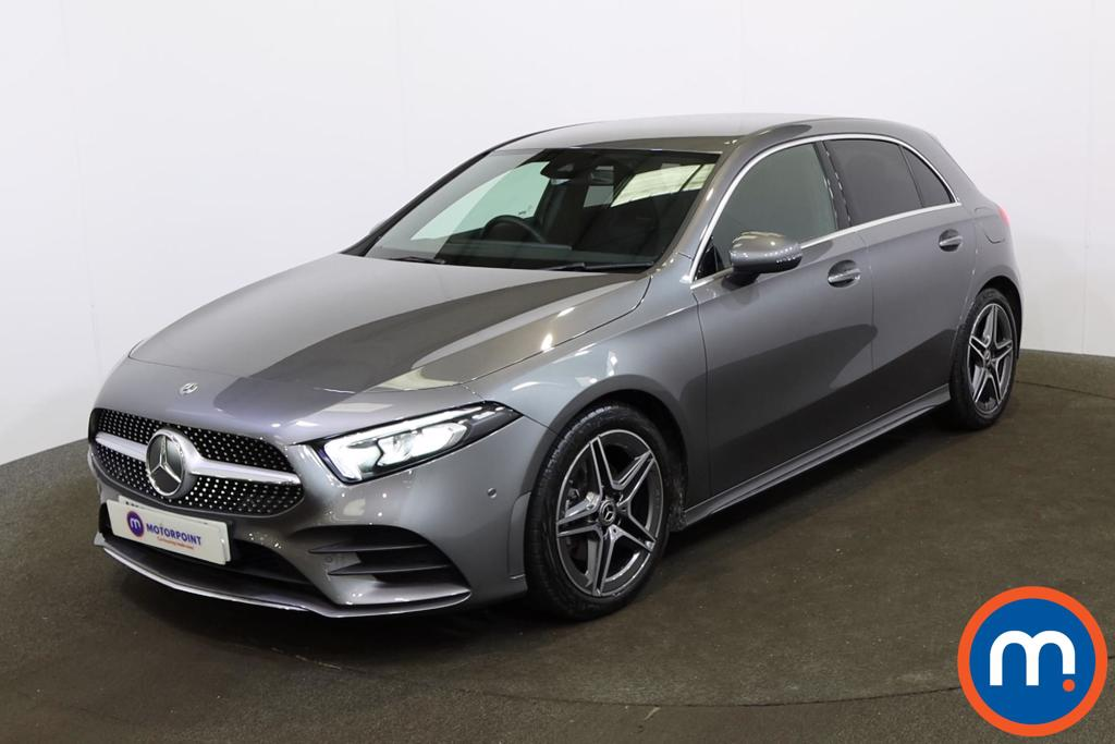Mercedes-Benz A Class A180 AMG Line Executive 5dr Auto - Stock Number 1162688 Passenger side front corner
