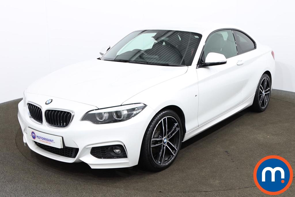 BMW 2 Series 218d M Sport 2dr Step Auto [Nav] - Stock Number 1163931 Passenger side front corner