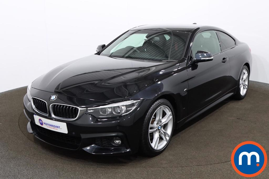 BMW 4 Series 420i M Sport 2dr [Professional Media] - Stock Number 1164667 Passenger side front corner