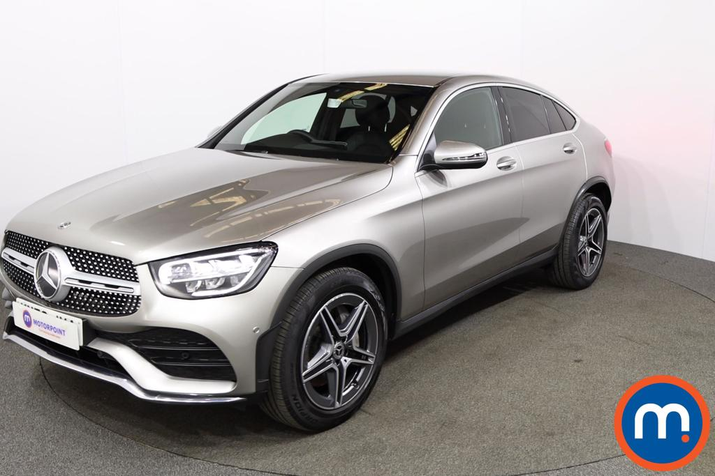 Mercedes-Benz Glc Coupe GLC 300 4Matic AMG Line 5dr 9G-Tronic - Stock Number 1162762 Passenger side front corner