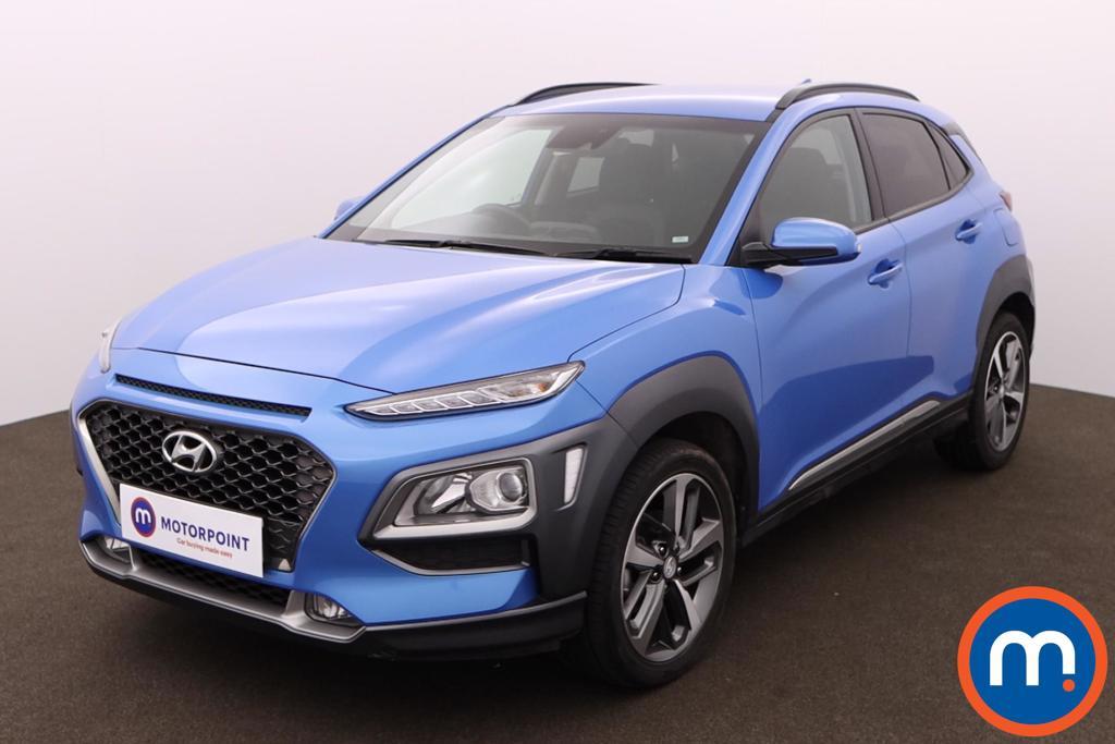 Hyundai Kona 1.0T GDi Blue Drive Premium 5dr - Stock Number 1164619 Passenger side front corner