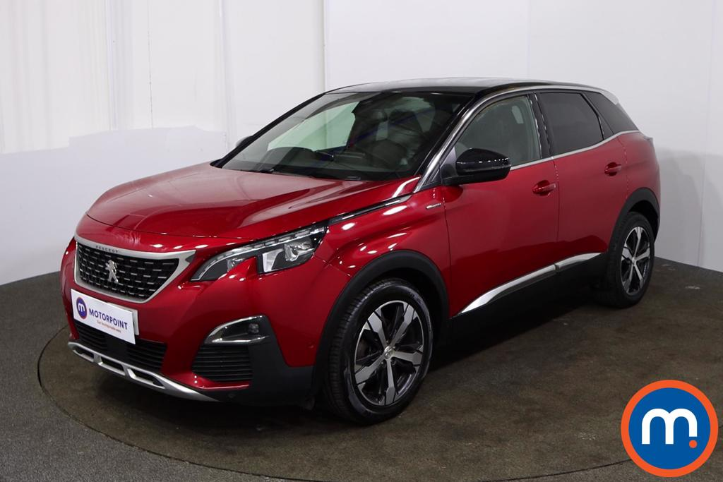 Peugeot 3008 1.6 BlueHDi 120 GT Line 5dr EAT6 - Stock Number 1152052 Passenger side front corner