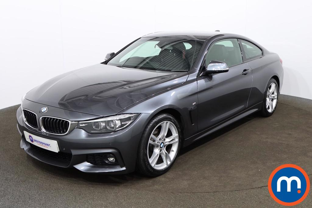 BMW 4 Series 420i M Sport 2dr Auto [Professional Media] - Stock Number 1163941 Passenger side front corner