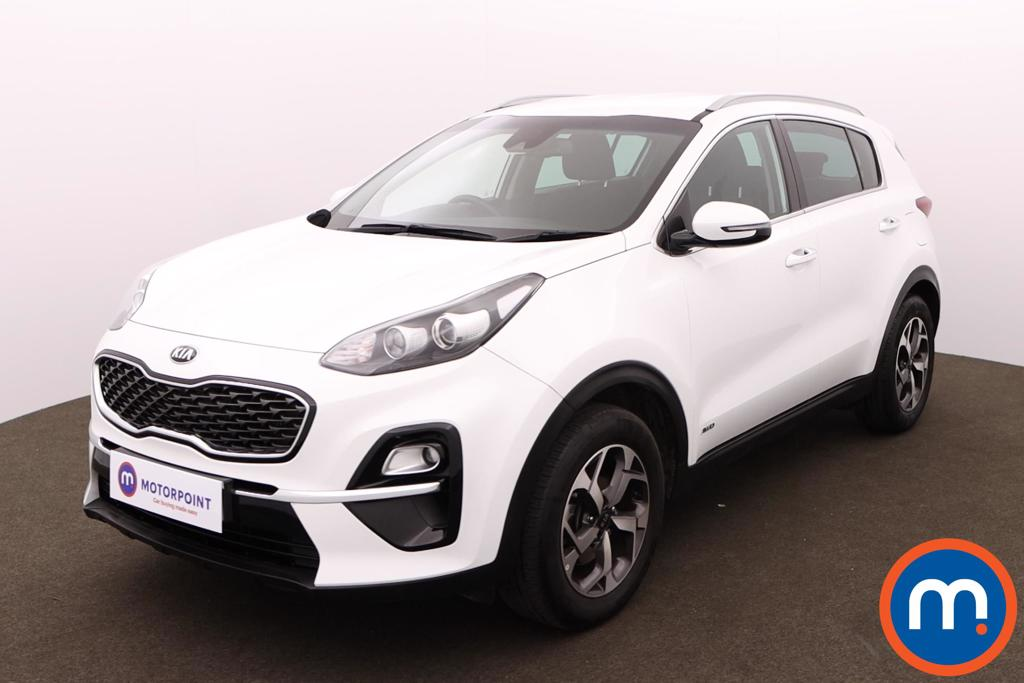 KIA Sportage 1.6T GDi ISG 2 5dr [AWD] - Stock Number 1164046 Passenger side front corner