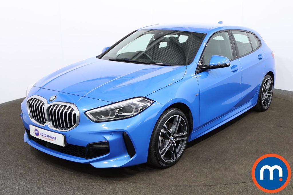 BMW 1 Series 118i M Sport 5dr Step Auto - Stock Number 1164175 Passenger side front corner