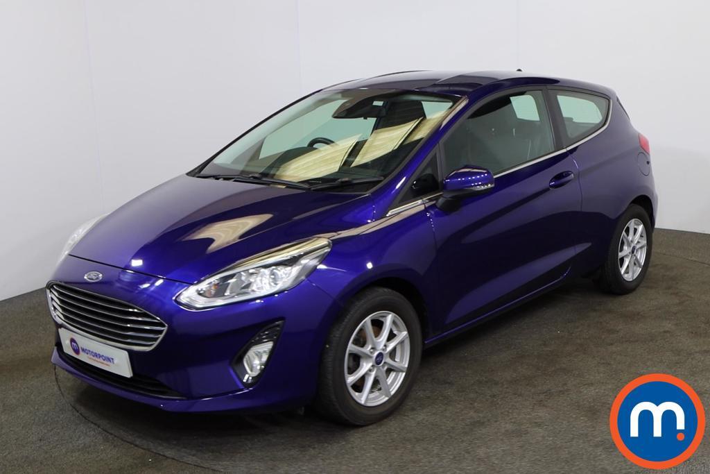 Ford Fiesta 1.0 EcoBoost Zetec 3dr - Stock Number 1132853 Passenger side front corner