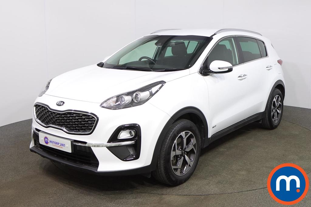 KIA Sportage 1.6T GDi ISG 2 5dr [AWD] - Stock Number 1163845 Passenger side front corner