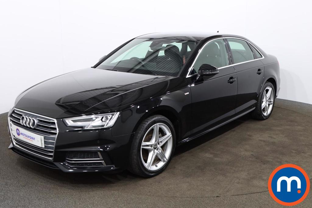 Audi A4 2.0T FSI S Line 4dr S Tronic [Leather-Alc] - Stock Number 1164353 Passenger side front corner