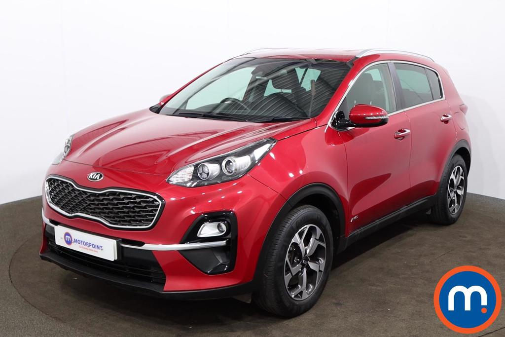 KIA Sportage 1.6T GDi ISG 2 5dr [AWD] - Stock Number 1165070 Passenger side front corner