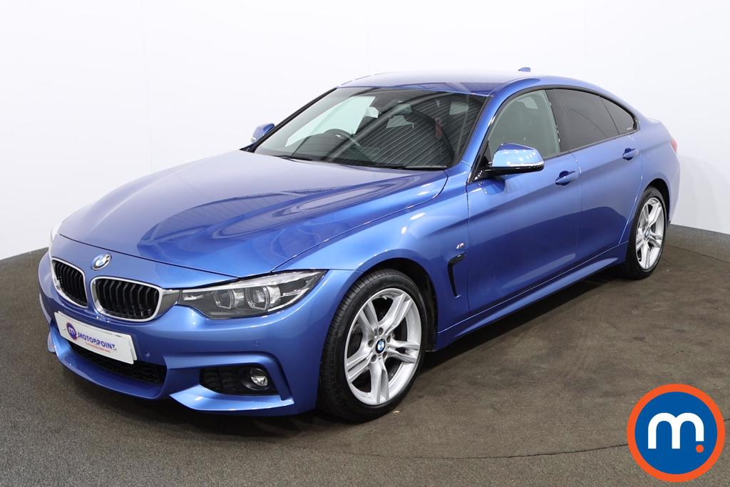 BMW 4 Series 420d [190] M Sport 5dr Auto [Professional Media] - Stock Number 1165316 Passenger side front corner