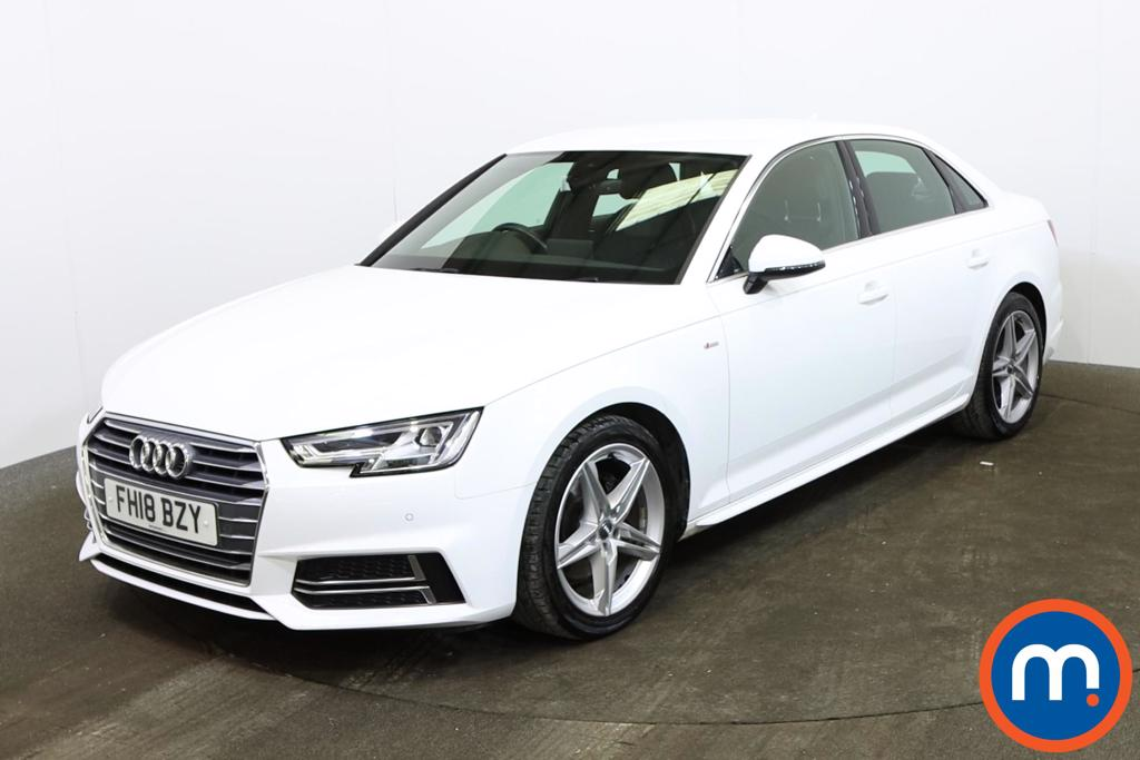 Audi A4 1.4T FSI S Line 4dr [Leather-Alc] - Stock Number 1164336 Passenger side front corner