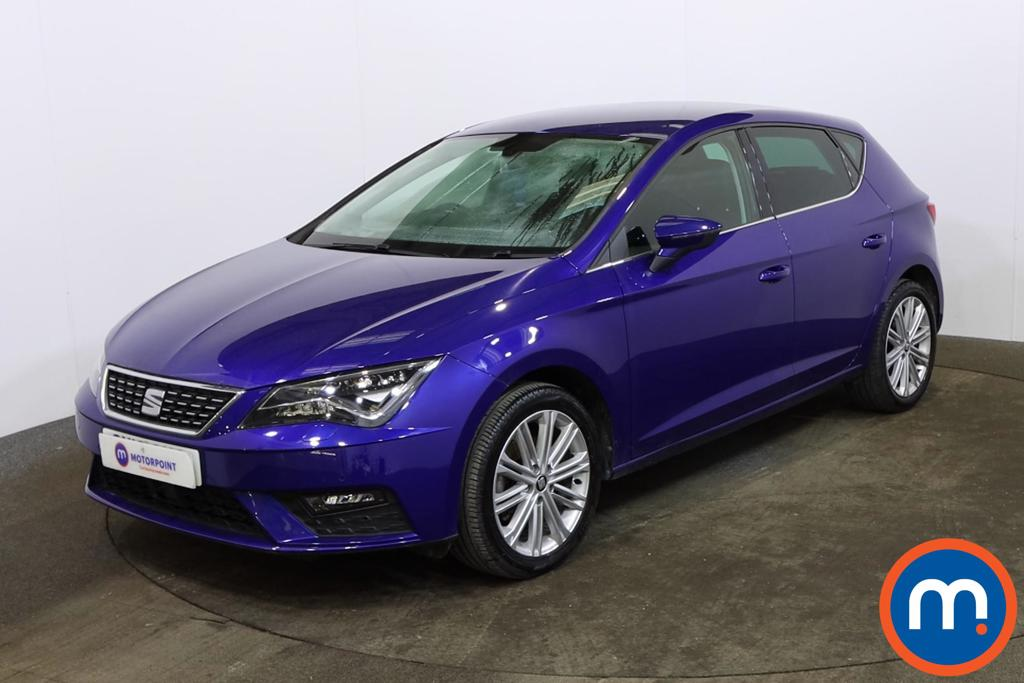 Seat Leon 1.4 TSI 125 Xcellence Technology 5dr [Leather] - Stock Number 1161443 Passenger side front corner