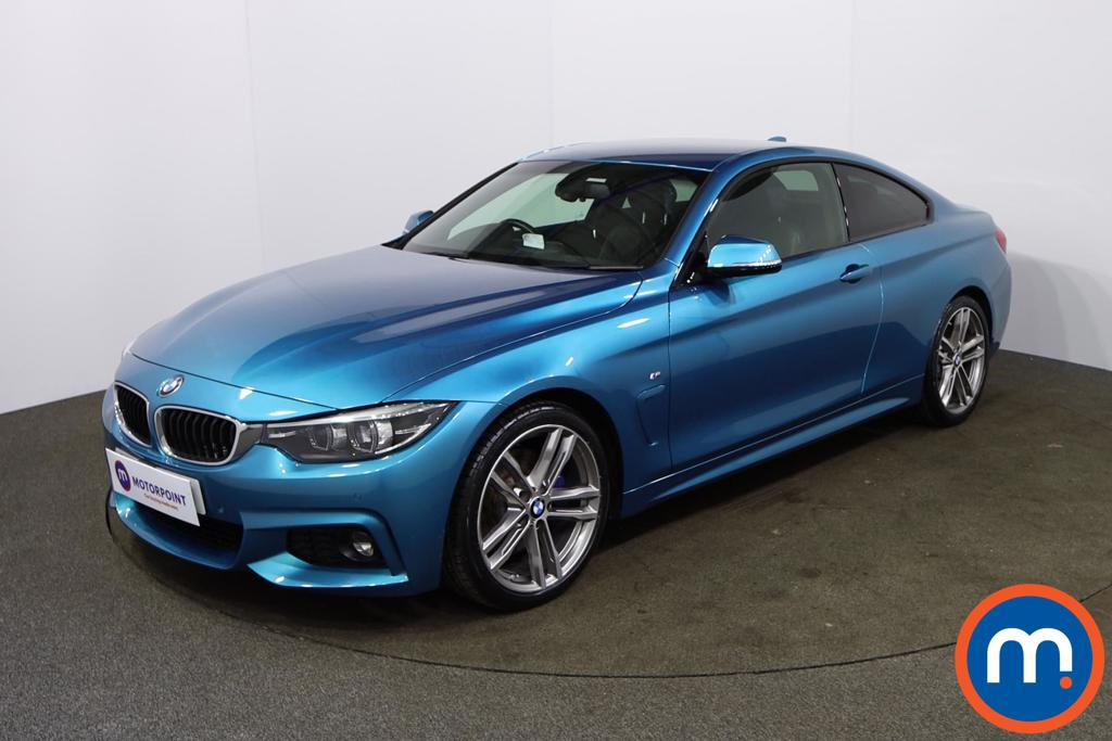 BMW 4 Series 420i M Sport 2dr Auto [Professional Media] - Stock Number 1164283 Passenger side front corner