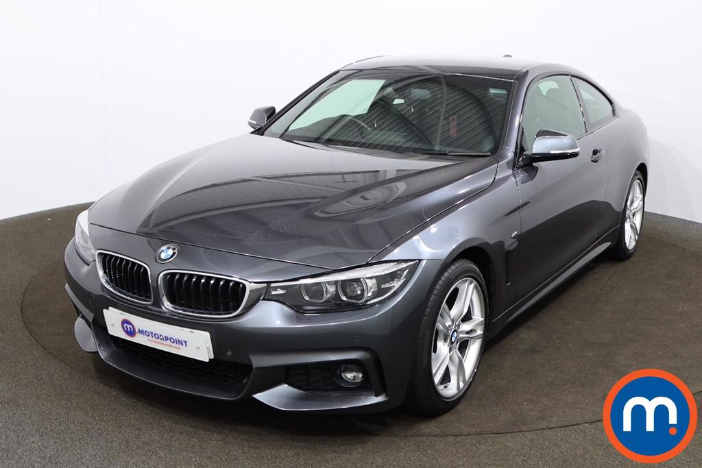BMW 4 Series 420i M Sport 2dr Auto [Professional Media] - Stock Number 1164651 Passenger side front corner