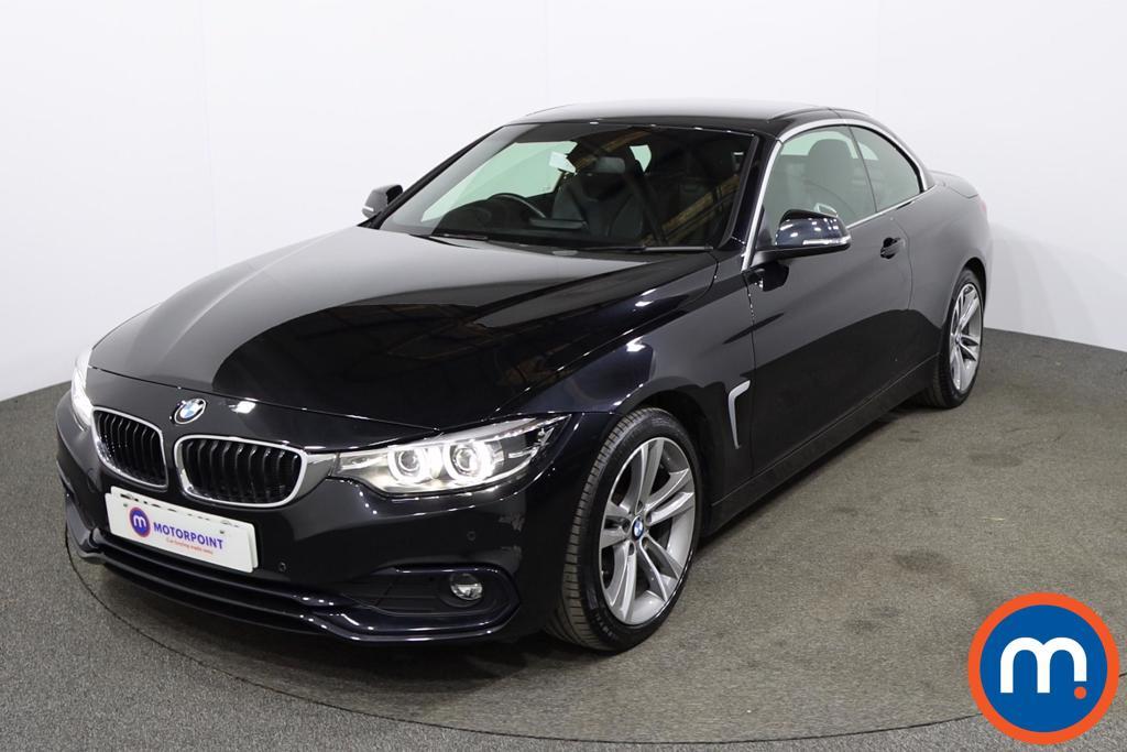 BMW 4 Series 420d [190] Sport 2dr [Business Media] - Stock Number 1165349 Passenger side front corner