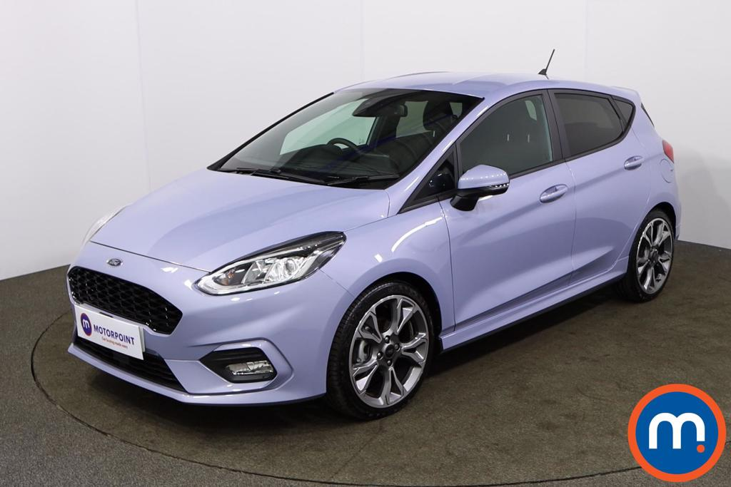 Ford Fiesta 1.0 EcoBoost 125 ST-Line X Edn 5dr Auto [7 Speed] - Stock Number 1165697 Passenger side front corner