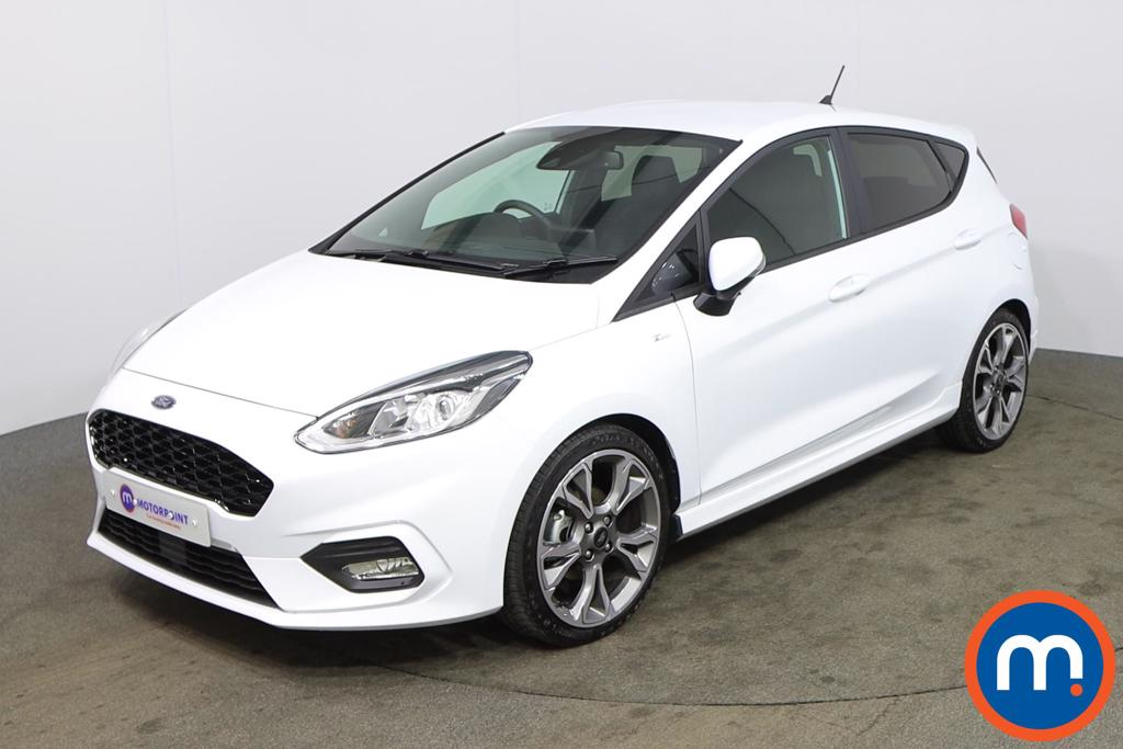 Ford Fiesta 1.0 EcoBoost 125 ST-Line X Edn 5dr Auto [7 Speed] - Stock Number 1165720 Passenger side front corner
