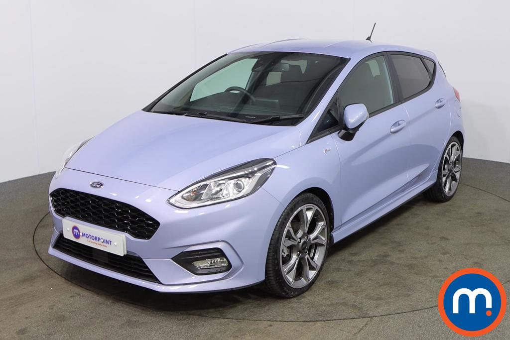 Ford Fiesta 1.0 EcoBoost 125 ST-Line X Edn 5dr Auto [7 Speed] - Stock Number 1167469 Passenger side front corner