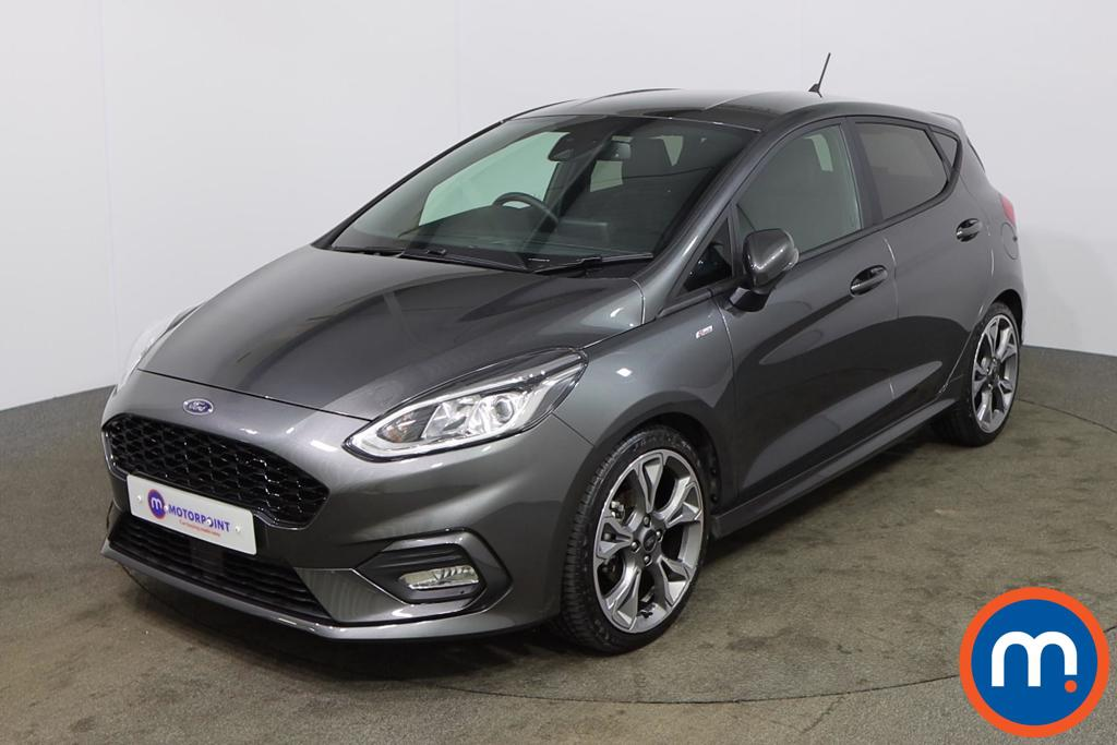 Ford Fiesta 1.0 EcoBoost 125 ST-Line X Edn 5dr Auto [7 Speed] - Stock Number 1167497 Passenger side front corner
