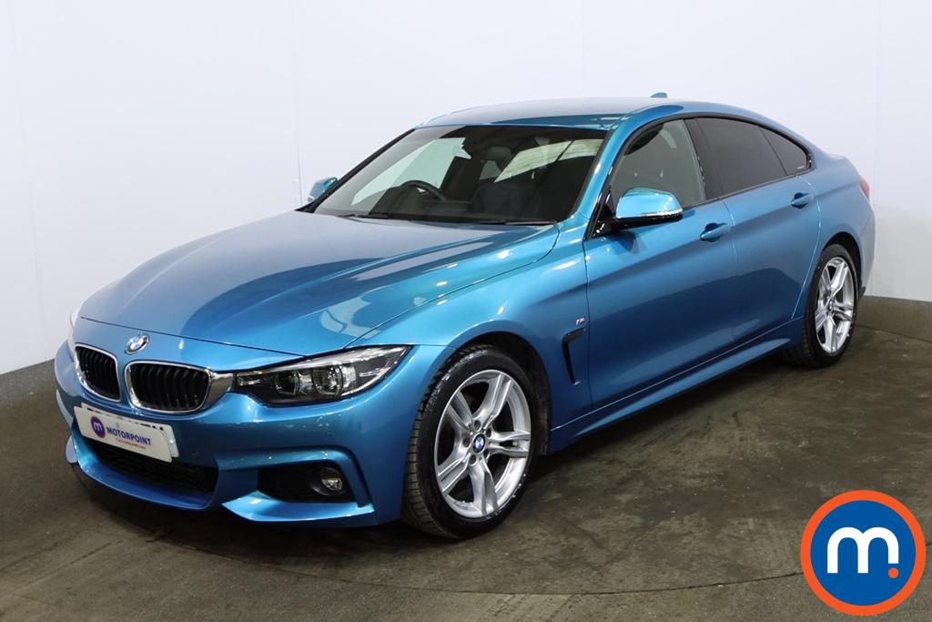 BMW 4 Series 420d [190] M Sport 5dr Auto [Professional Media] - Stock Number 1164878 Passenger side front corner