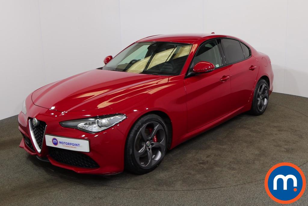 Alfa Romeo Giulia 2.2 JTDM-2 180 Speciale 4dr Auto - Stock Number 1166699 Passenger side front corner