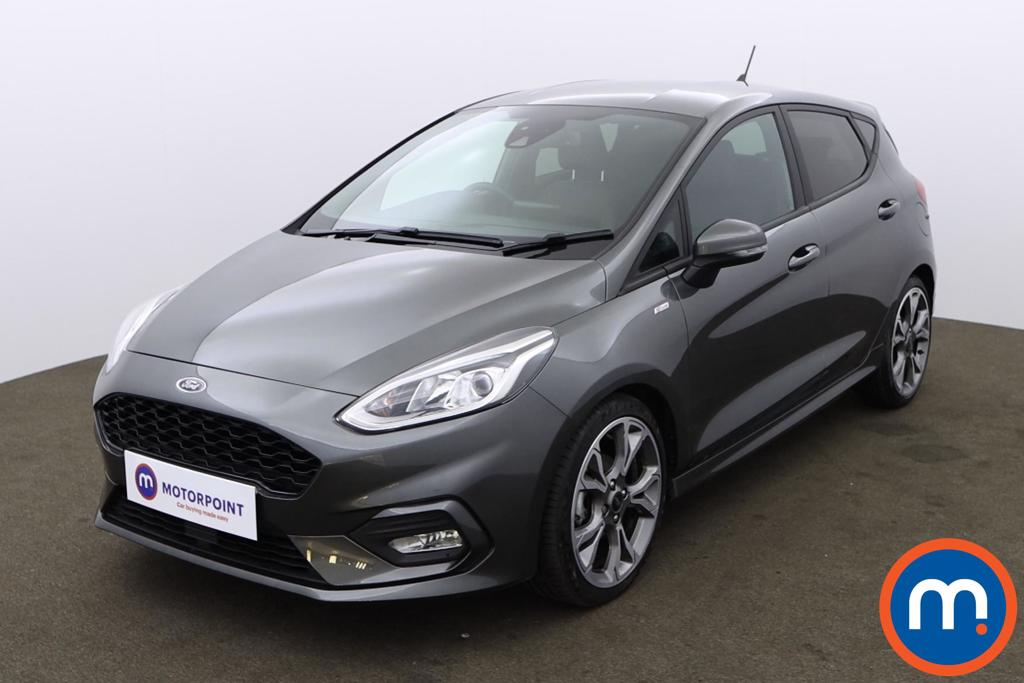 Ford Fiesta 1.0 EcoBoost 125 ST-Line X Edn 5dr Auto [7 Speed] - Stock Number 1167494 Passenger side front corner