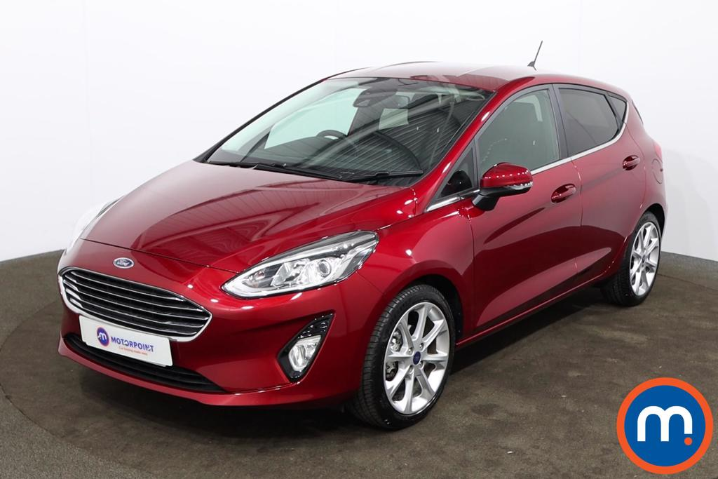 Ford Fiesta 1.0 EcoBoost 125 Titanium X 5dr Auto [7 Speed] - Stock Number 1167540 Passenger side front corner
