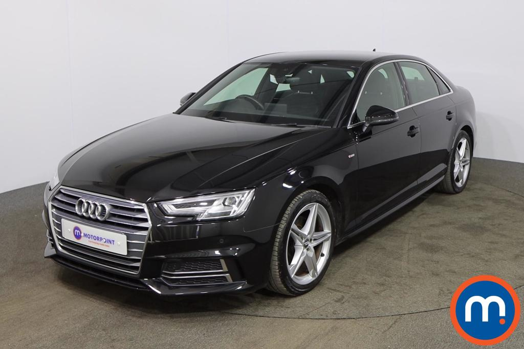 Audi A4 1.4T FSI S Line 4dr [Leather-Alc] - Stock Number 1166492 Passenger side front corner