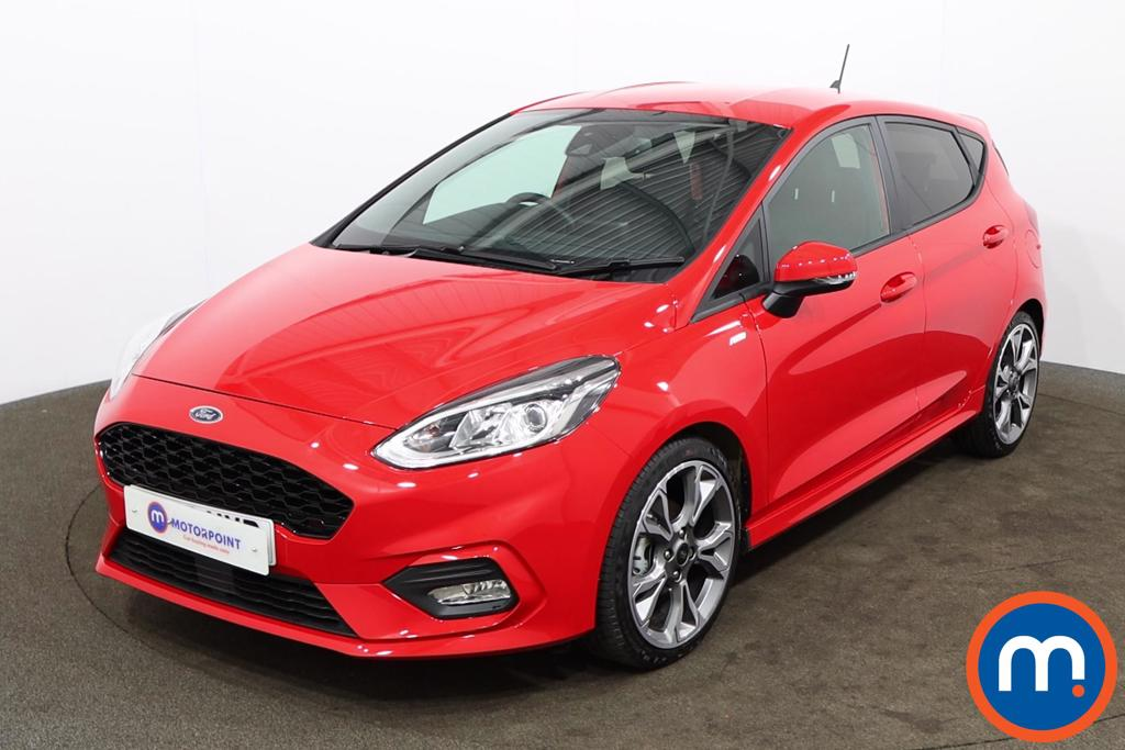 Ford Fiesta 1.0 EcoBoost 125 ST-Line X Edn 5dr Auto [7 Speed] - Stock Number 1168096 Passenger side front corner