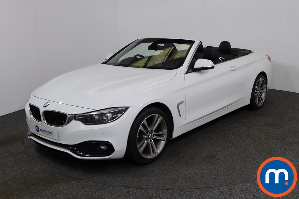 BMW 4 Series 420d [190] Sport 2dr [Business Media] - Stock Number 1165322 Passenger side front corner